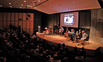 Full house at the Bruno Walter Auditorium at Lincoln Center Library for the Performing Arts, 2016