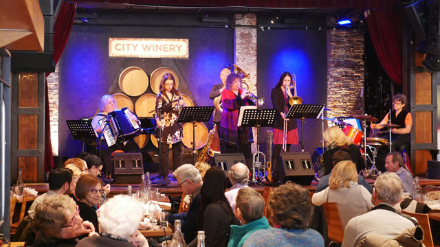 metropolitan-klezmer @ city winery nyc 01-14-18
